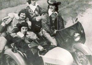 Мушкетеры на мотоцикле