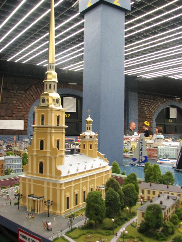 Гранд Макет России. Петропавловская крепость