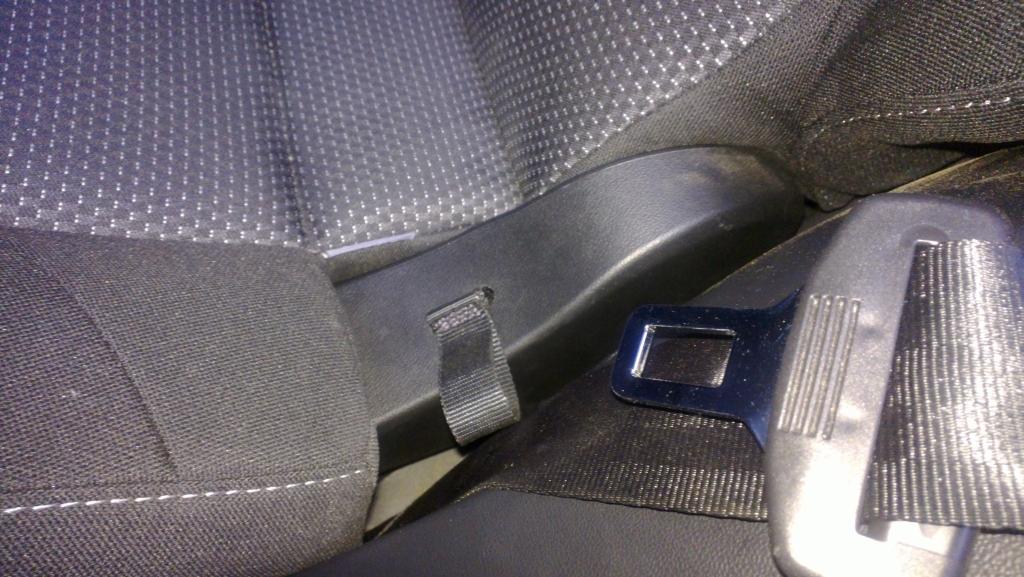 SEAT Altea Freetrack. Заднее кресло