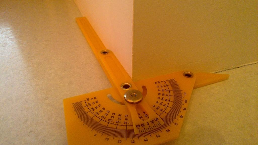 Измерение внешнего угла
