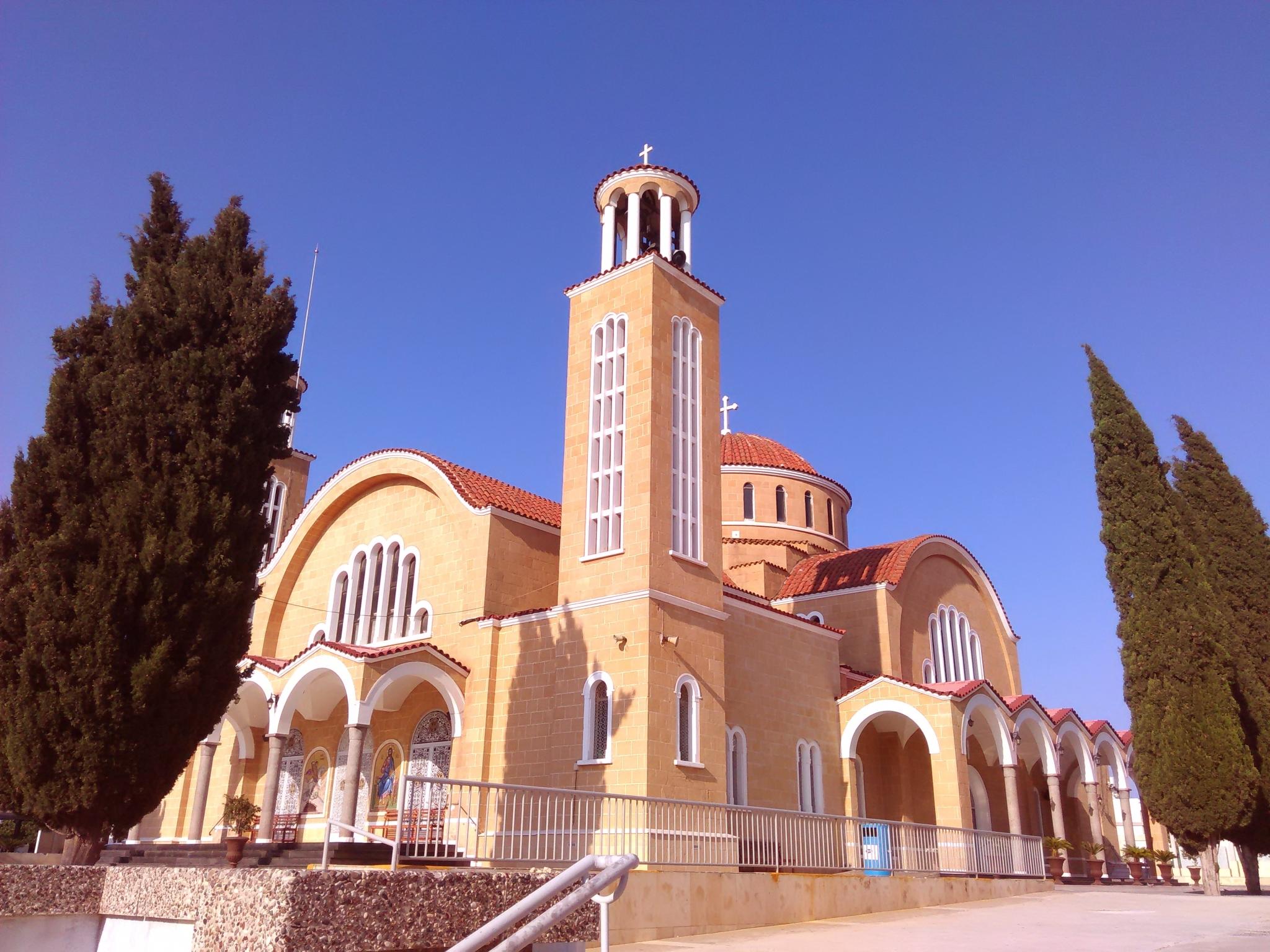 Церковь на острове Кипр