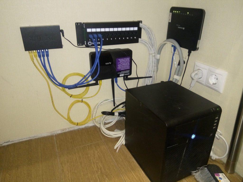 Финальный вид серверной