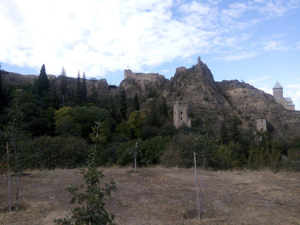 Грузия. Тбилиси. Гора