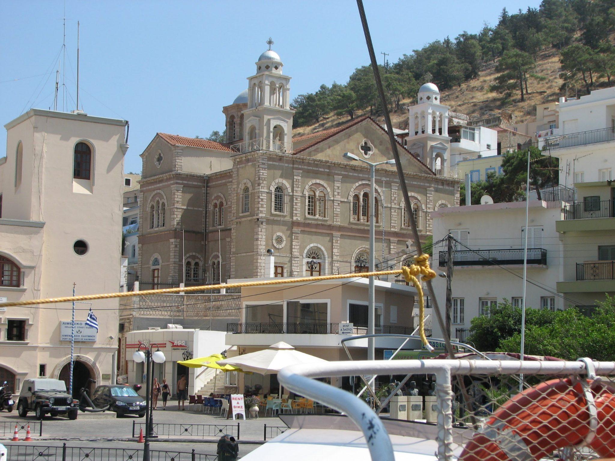 Церковь на одном из островов Греции