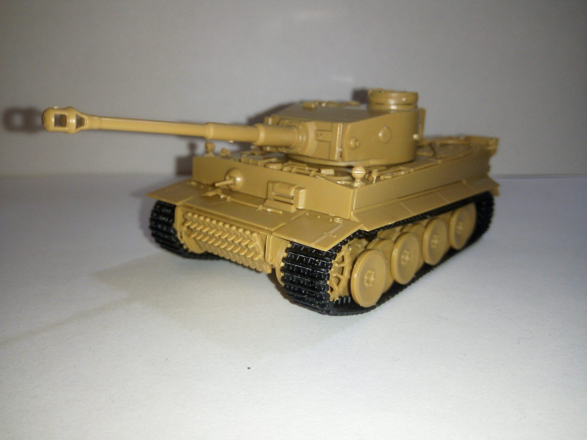 Модель Tiger, масштаб 1:72, фирма ZVEZDA