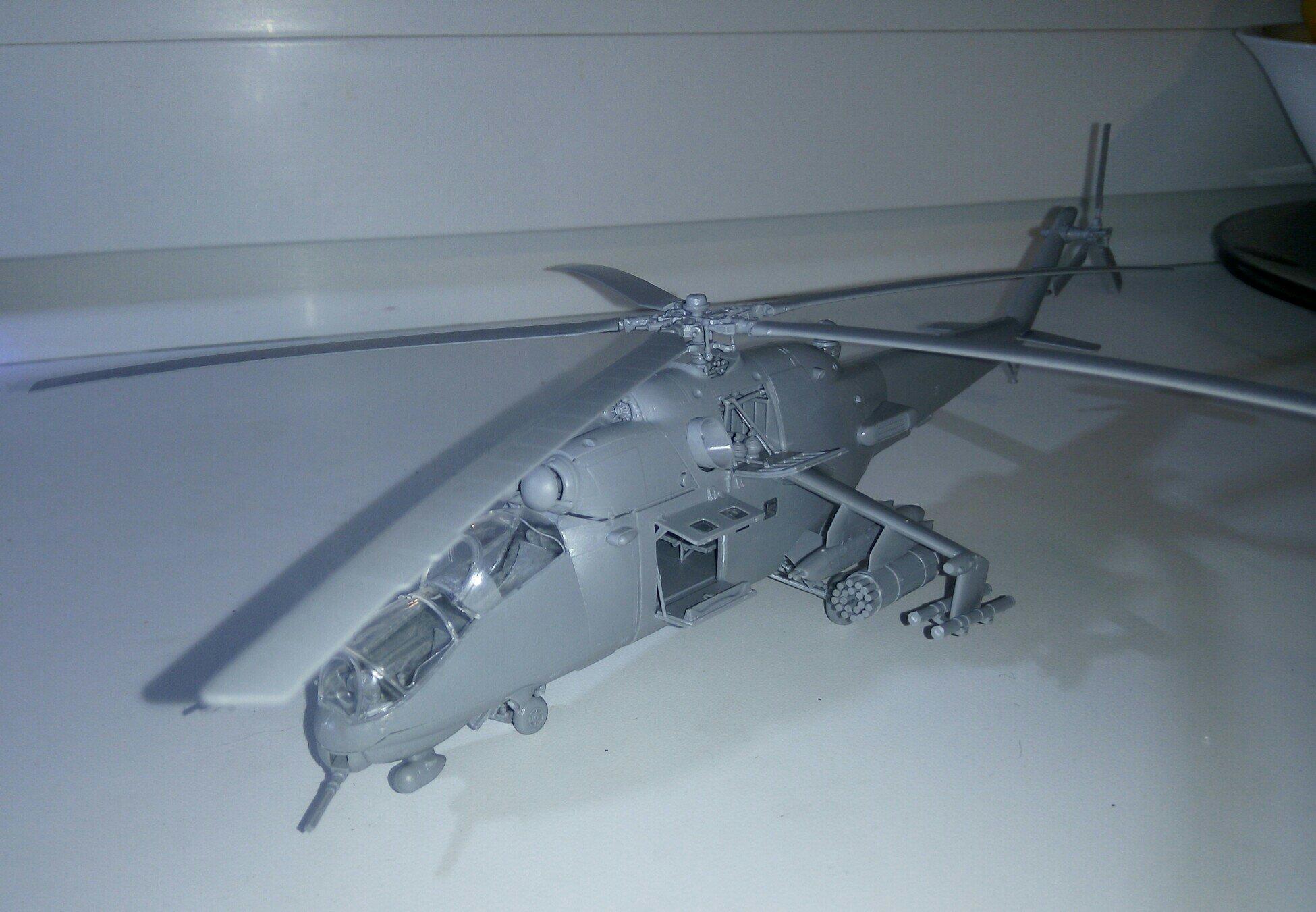Модель вертолёта МИ-26Б
