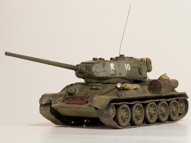 Модель Т-34. Работа настоящего мастера