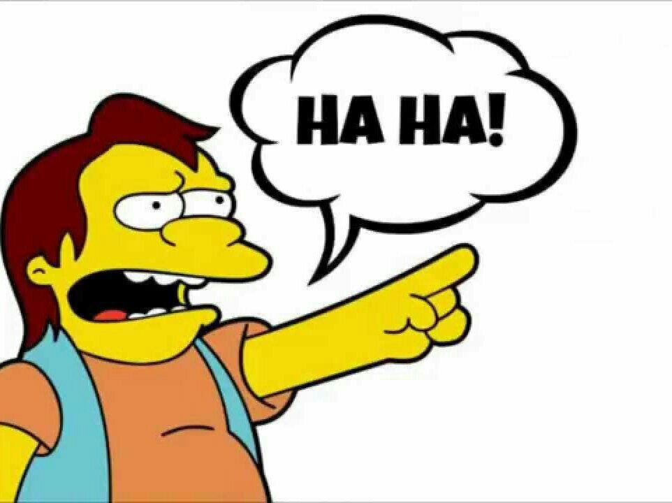 Симпсоны. Ха-ха!